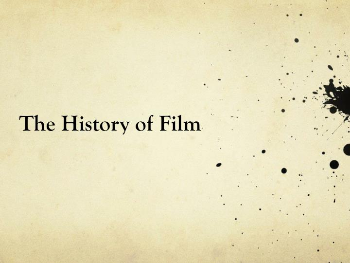 the history of film n.