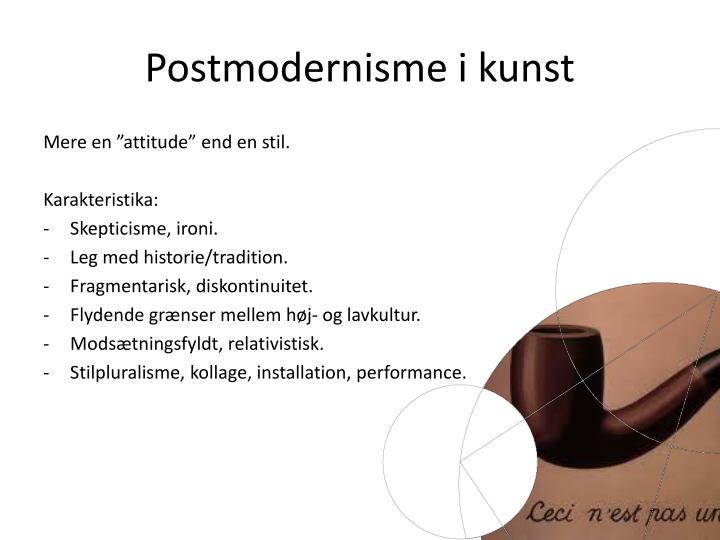 Postmodernisme i kunst
