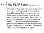 the fear factor numbers 14 1 4