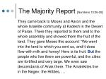 the majority report numbers 13 26 29