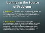 identifying the source of problems1