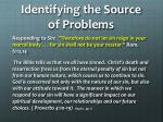 identifying the source of problems3
