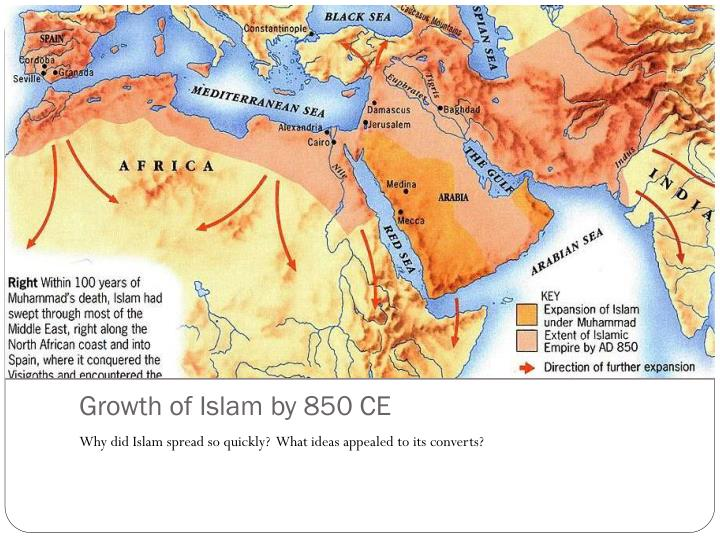 why did islam expand so rapidly