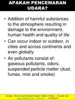 apakah pencemaran udara
