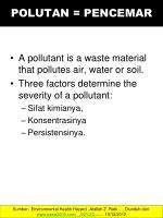 polutan pencemar