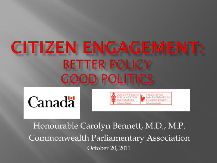 citizen engagement better policy good politics n.