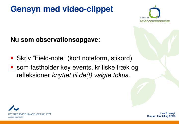Gensyn med video-