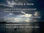 christianity rome