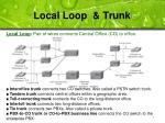 local loop trunk