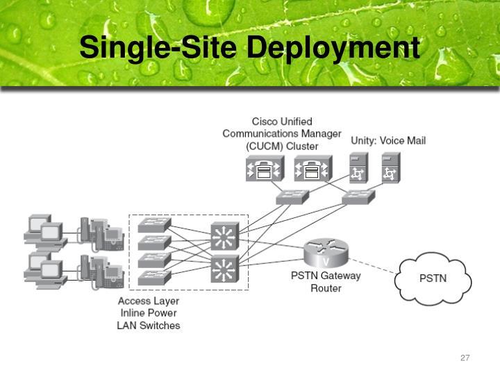 Single-Site Deployment