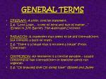 general terms1