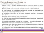 requisitos para titularse1