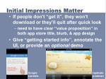 initial impressions matter1