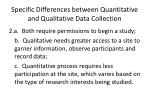 specific differences between quantitative and qualitative data collection1