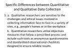 specific differences between quantitative and qualitative data collection4