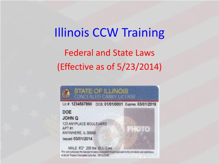 illinois ccw training n.