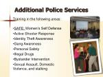 additional police services1