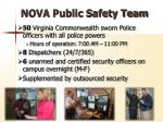 nova public safety team