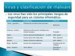 virus y clasificaci n de malware