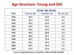 age structure young and old