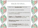 back to dna