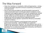 the way forward1