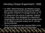 hershey chase experiment 1952
