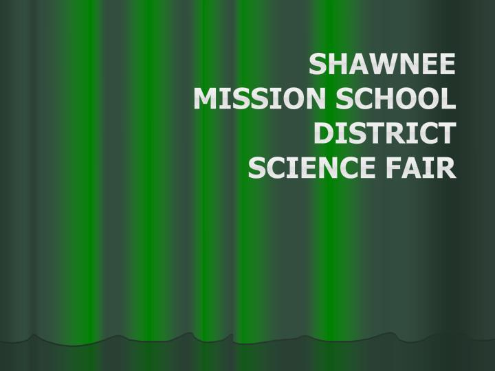 shawnee mission school district science fair n.