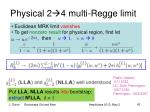 physical 2 4 multi regge limit
