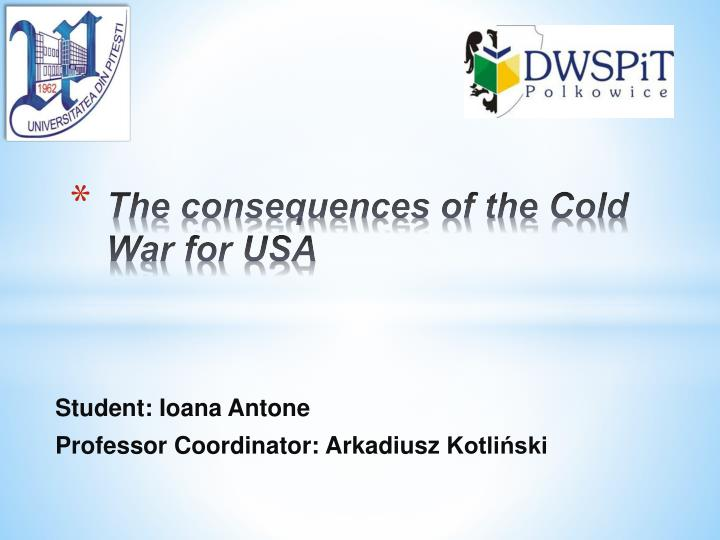 the consequences of the cold war for usa n.