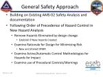 general safety approach