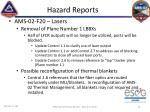 hazard reports15