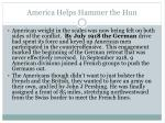 america helps hammer the hun1