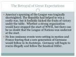 the betrayal of great expectations