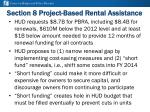section 8 project based rental assistance