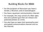 building blocks for bb84