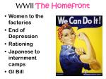 wwii the homefront