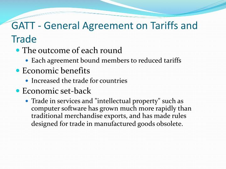 Ppt Trade Agreements Powerpoint Presentation Id2228287