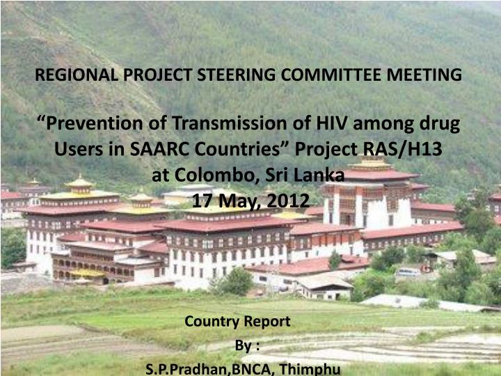country report by s p pradhan bnca thimphu