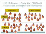nichd research study can fast build social capital and improve child outcomes