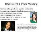 harassment cyber mobbing