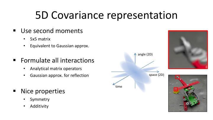5D Covariance