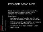 immediate action items2