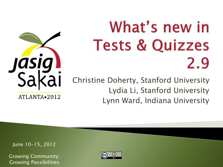 what s new in tests quizzes 2 9 n.