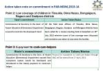 action taken note on commitment in pab mdm 2013 141