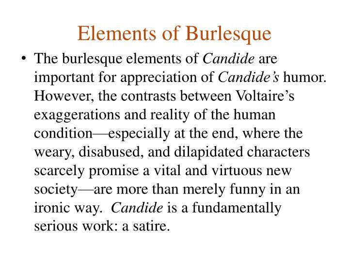 Elements of Burlesque