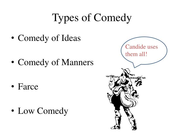 Types of comedy