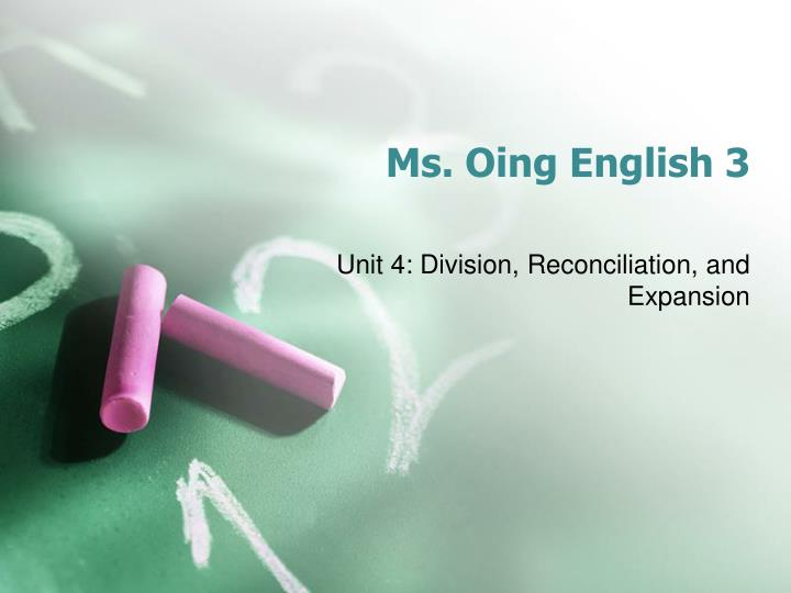 ms oing english 3 n.