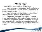 week four1
