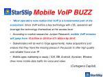 mobile voip buzz